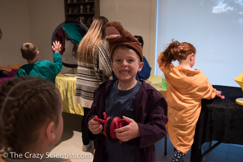 science birthday party-5